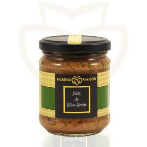 patè olive verdi Messina Maison